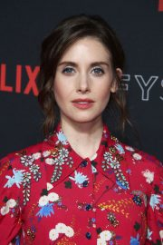 Alison Brie at Glow Netflix Fysee Event in Los Angeles 2018/05/30 10