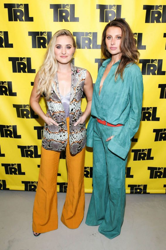 Aly & AJ Michalka at TRL in New York 2018/06/02 7