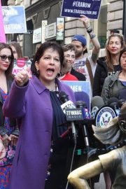 Alyssa Milano at Era Coalition Call for Ratification of the Equal Rights Amendment in New York 2018/06/04 8