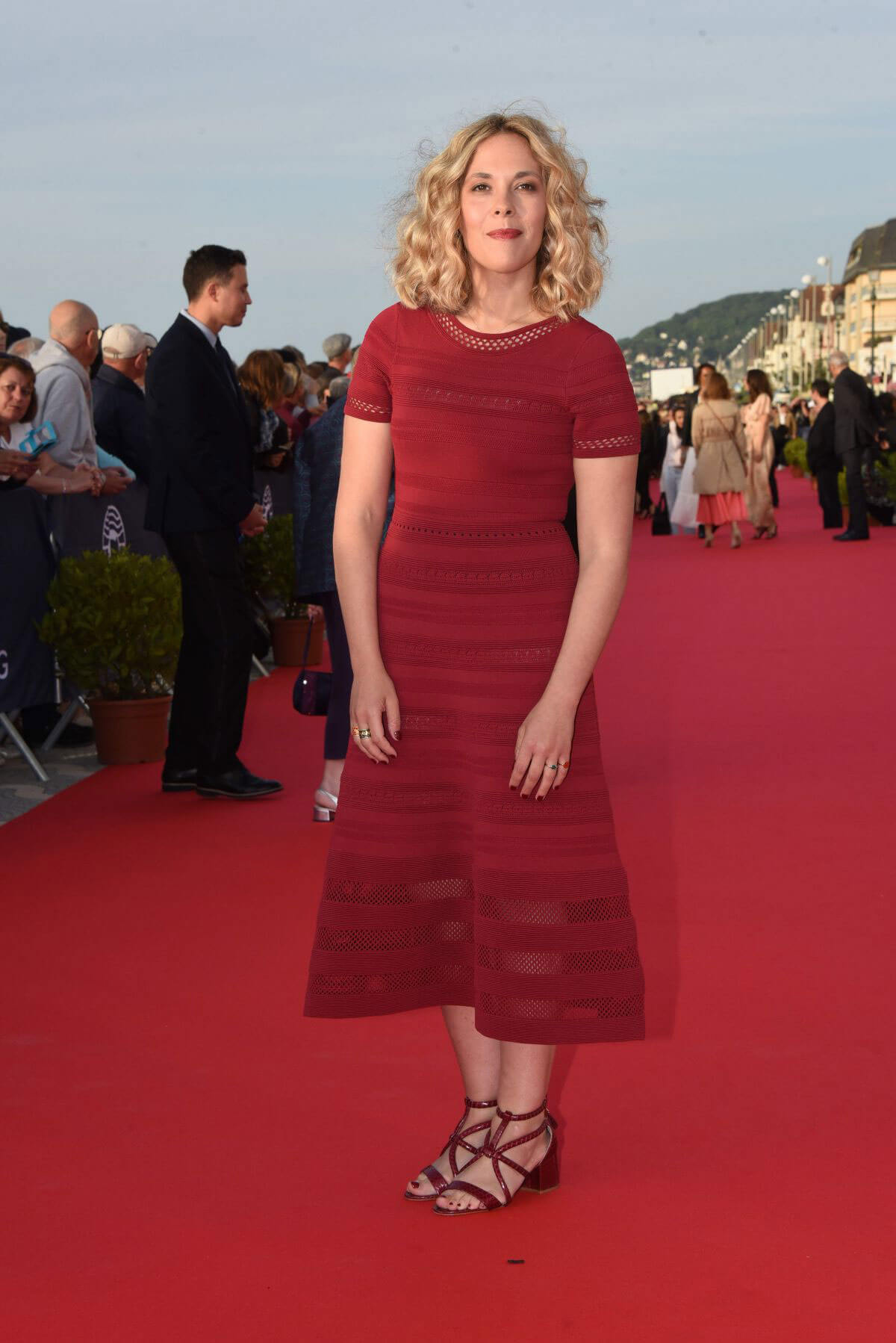 Alysson Paradis at 32nd Cabourg Film Festival 2018/06/15 1