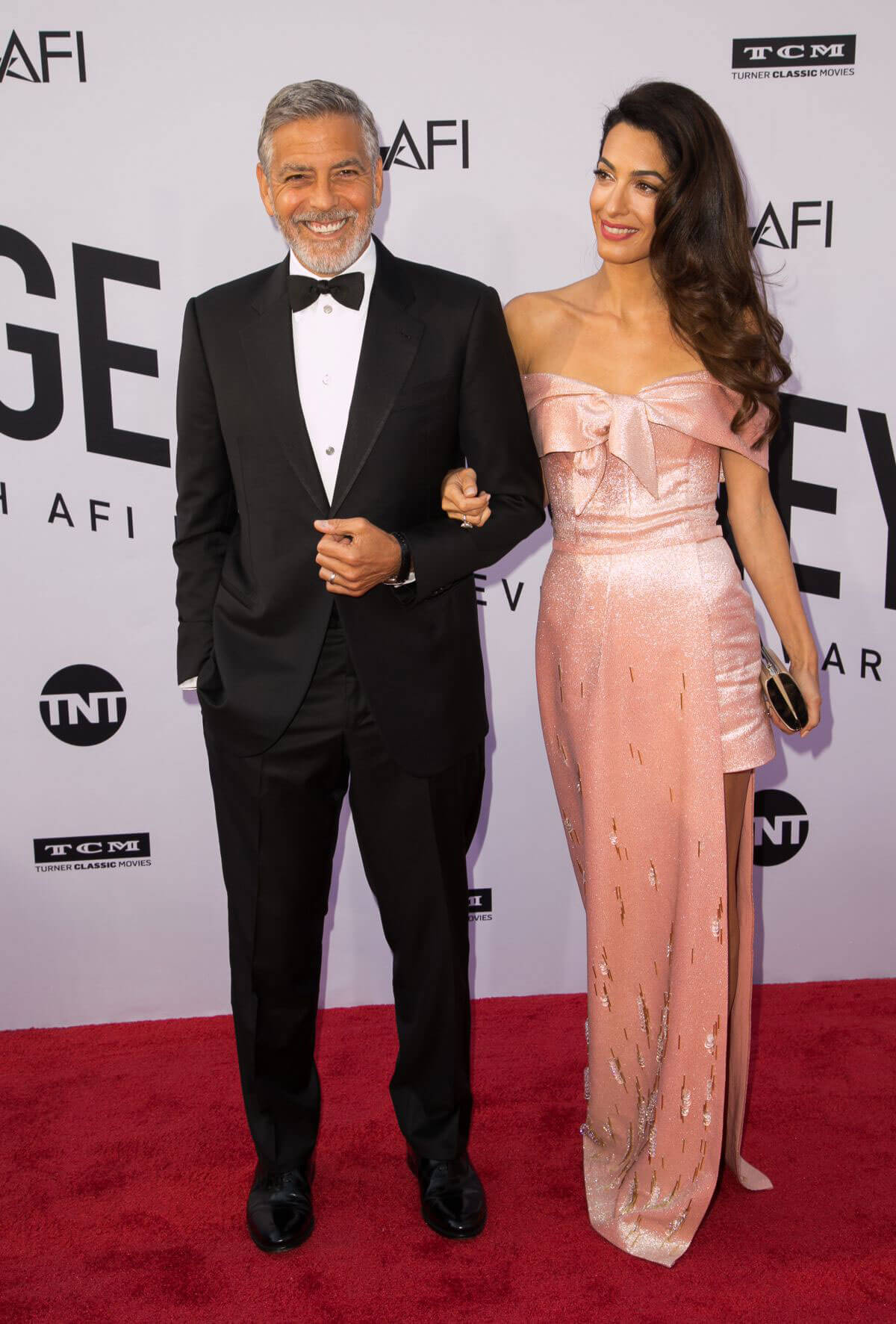 Amal and George Clooney at American Film Institute's 46th Life Achievement Award 2018/06/07 10