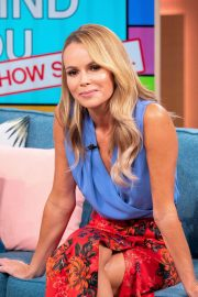 Amanda Holden at This Morning Show in London 2018/06/01 5