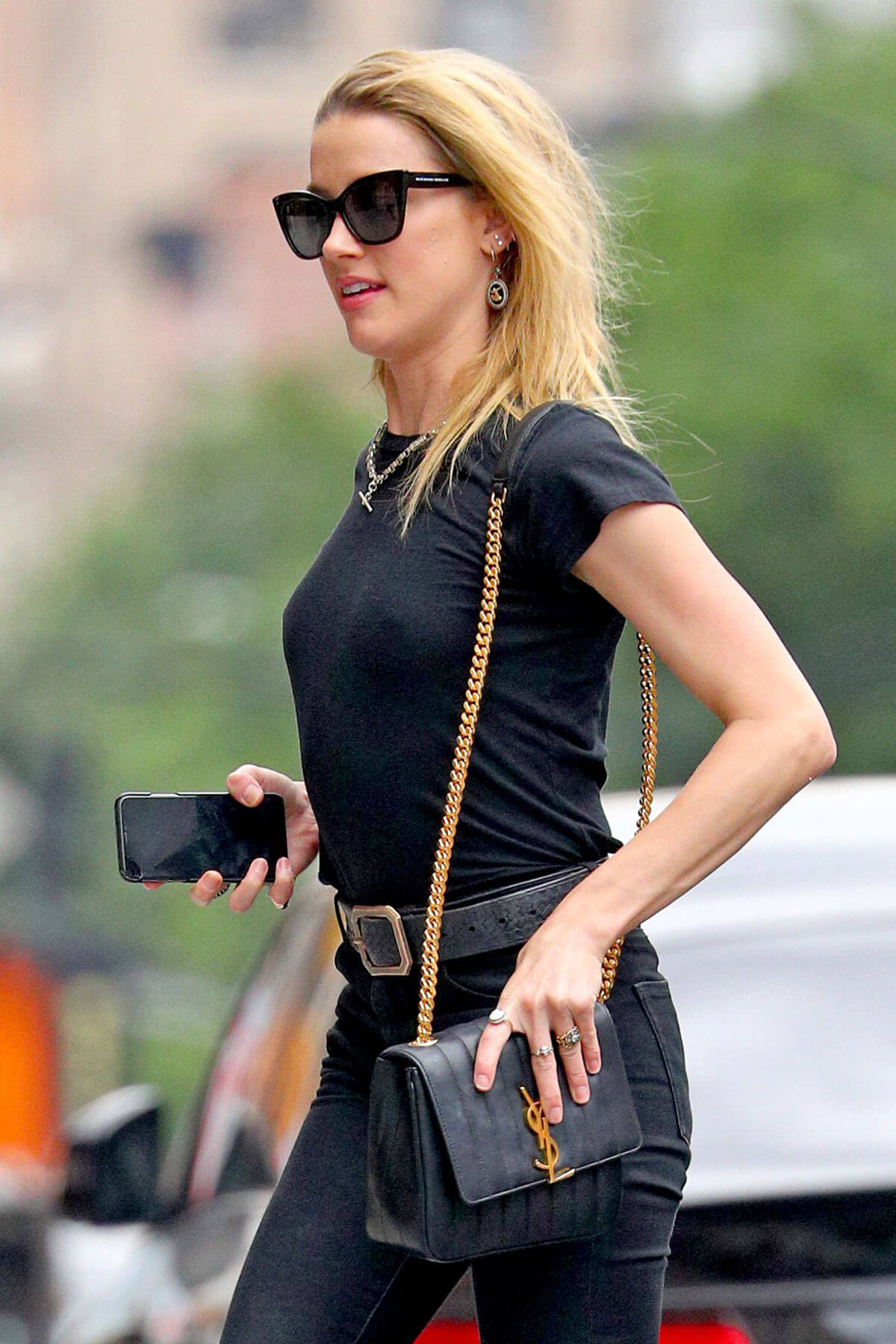 Amber Heard and Vito Schnabel Out in New York 2018/06/07 13