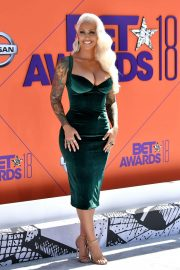 Amber Rose at BET Awards 2018 in Los Angeles 2018/06/24 2