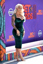 Amber Rose at BET Awards 2018 in Los Angeles 2018/06/24 3