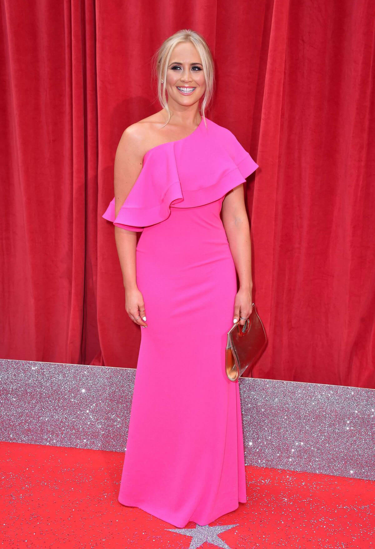 Amy Walsh at British Soap Awards 2018 in London 2018/06/02 4