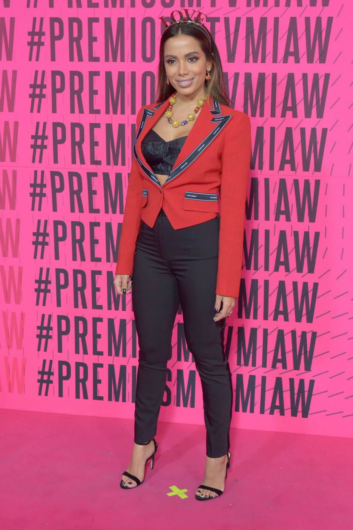Anitta at MTV Millennial Awards 2018 in Mexico City 2018/06/02 3