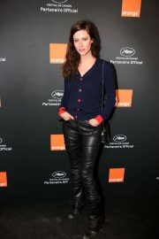 Anna Mouglalis at Orange Party at 71th Annual Cannes Film Festival 2018/05/12 2