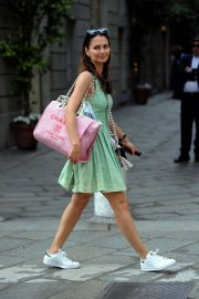 Anna Safroncik Out and About in Milan 2018/06/06 6