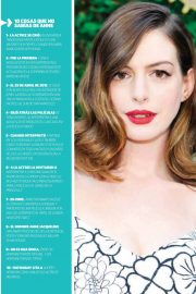 Anne Hathaway in Oh! Magazine, June 2018 Issue 2