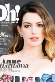 Anne Hathaway in Oh! Magazine, June 2018 Issue 4