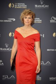 Anne Richard at 58th International Television Festival Opening Ceremony in Monte Carlo 2018/06/15 2