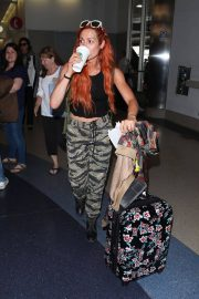 Becky Lynch Arrives at Los Angeles International Airport 2018/06/06 6
