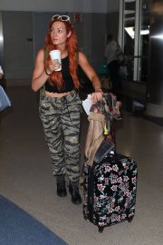 Becky Lynch Arrives at Los Angeles International Airport 2018/06/06 8