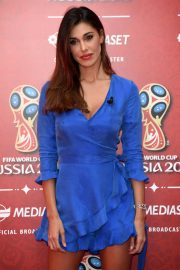 Belen Rodriguez at Fifa World Cup Russia 2018 TV Show in Milan 2018/06/07 2