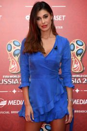 Belen Rodriguez at Fifa World Cup Russia 2018 TV Show in Milan 2018/06/07 7