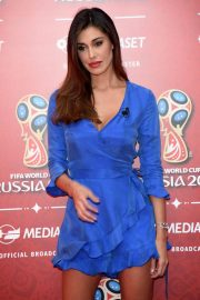 Belen Rodriguez at Fifa World Cup Russia 2018 TV Show in Milan 2018/06/07 8