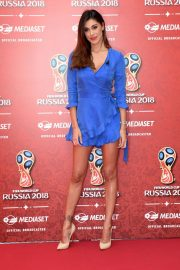 Belen Rodriguez at Fifa World Cup Russia 2018 TV Show in Milan 2018/06/07 10