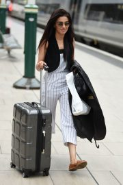 Bhavna Limbachia at Manchester Piccadilly Train Station 2018/06/02 2