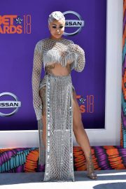 Blac Chyna at BET Awards 2018 in Los Angeles 2018/06/24 2