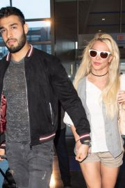 Britney Spears at JFK Airport in New York 2018/05/13 1