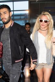 Britney Spears at JFK Airport in New York 2018/05/13 2