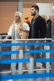 Britney Spears at JFK Airport in New York 2018/05/13 5