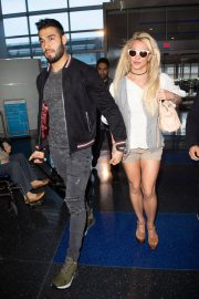 Britney Spears at JFK Airport in New York 2018/05/13 6