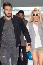 Britney Spears at JFK Airport in New York 2018/05/13 7