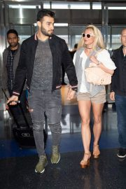 Britney Spears at JFK Airport in New York 2018/05/13 9