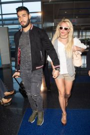Britney Spears at JFK Airport in New York 2018/05/13 10