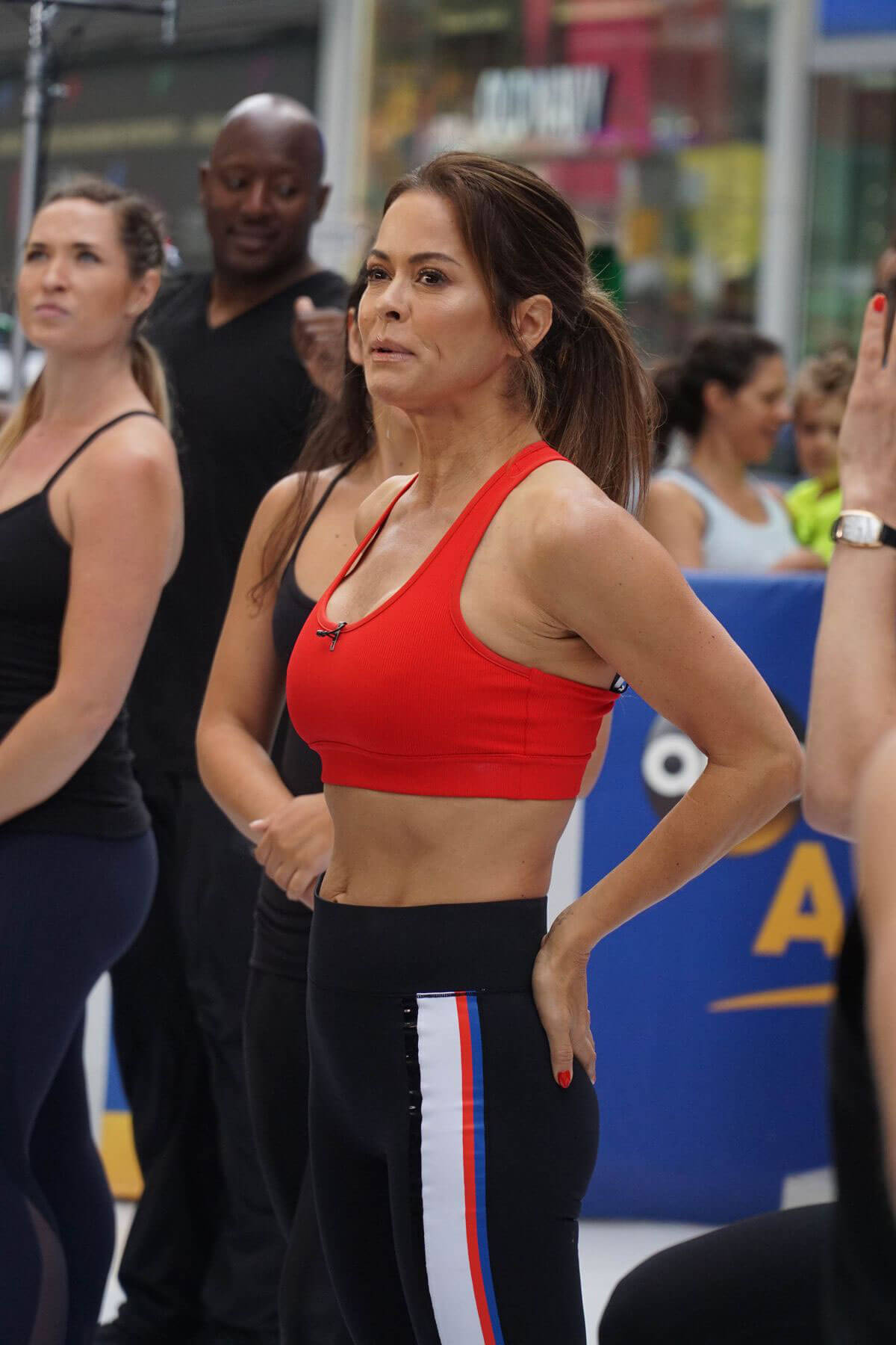 Brooke Burke Working Out at Good Morning America in New York 2018/06/11 1