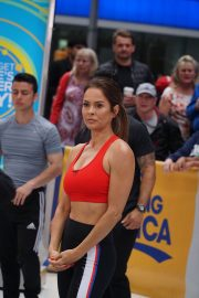 Brooke Burke Working Out at Good Morning America in New York 2018/06/11 2