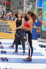 Brooke Burke Working Out at Good Morning America in New York 2018/06/11 9