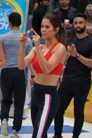 Brooke Burke Working Out at Good Morning America in New York 2018/06/11 11