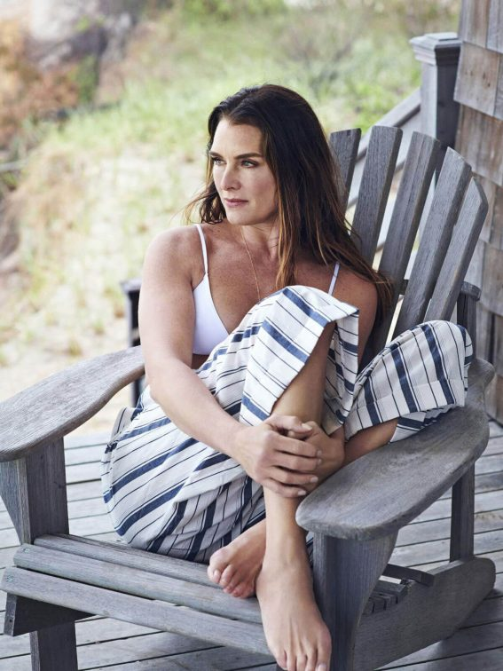 Brooke Shields Poses for Net-a-Porter Edit, June 2018 7