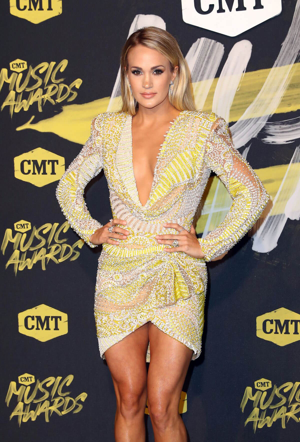 Carrie Underwood at CMT Music Awards 2018 in Nashville 2018/06/06 6