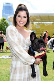 Cassadee Pope at CMT and Pedigree's Paws & Play in Nashville 2018/06/03 2