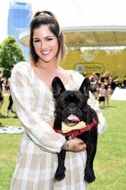 Cassadee Pope at CMT and Pedigree's Paws & Play in Nashville 2018/06/03 13