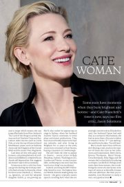 Cate Blanchett in The Lady Magazine, June 2018 Issue 1