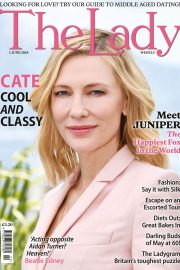 Cate Blanchett in The Lady Magazine, June 2018 Issue 3