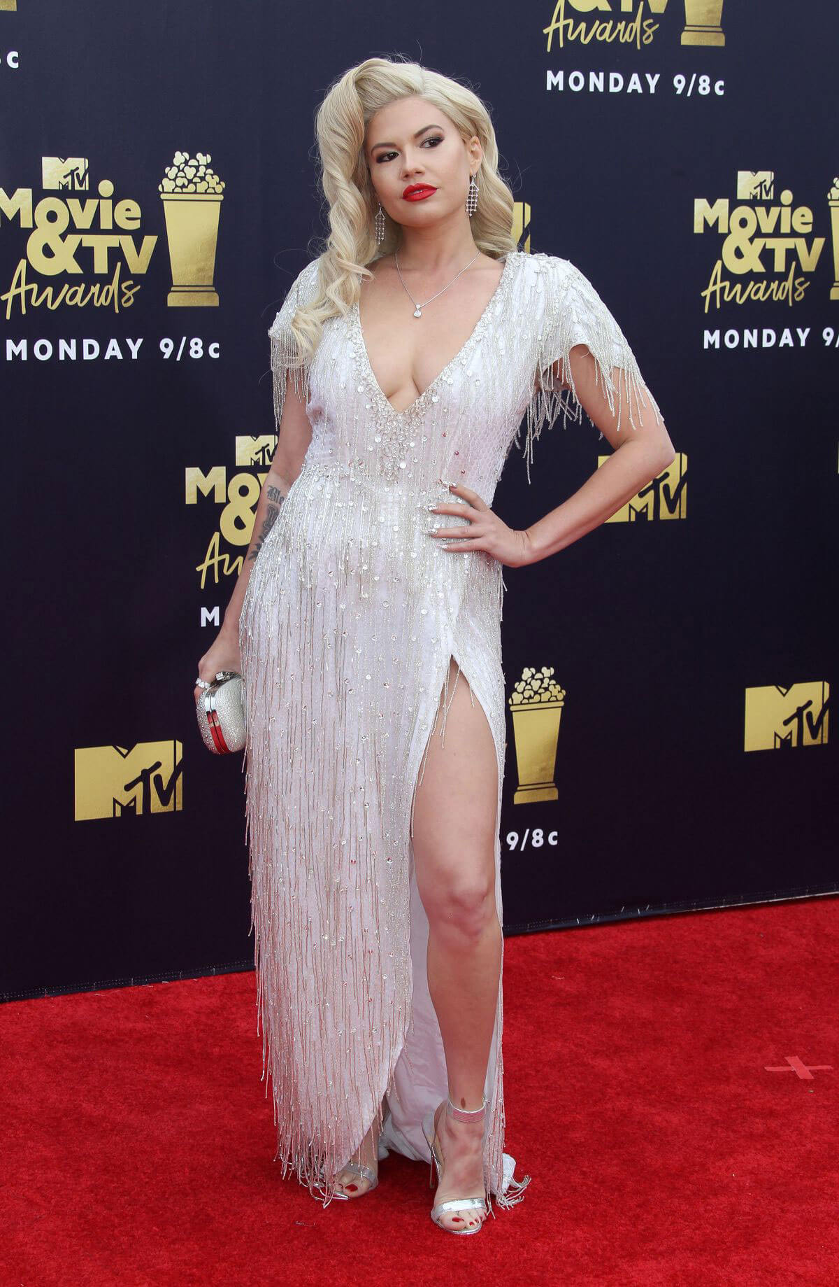 Chanel West Coast at 2018 MTV Movie and TV Awards in Santa Monica 2018/06/16 1