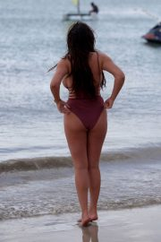 Charlotte Crosby in Swimsuit at a Beach in Saint Lucia 2018/06/13 15