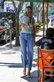Charlotte McKinney in Jeans Out and About in Los Angeles 2018/06/01 21