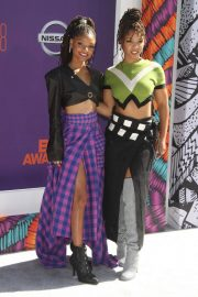 Chloe and Halle Bailey at BET Awards in Los Angeles 2018/06/24 2