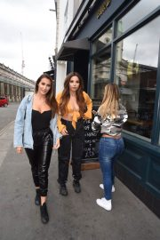 Chloe and Lauryn Goodman at London's Bird of Smithfield Launch 2018/06/16 10