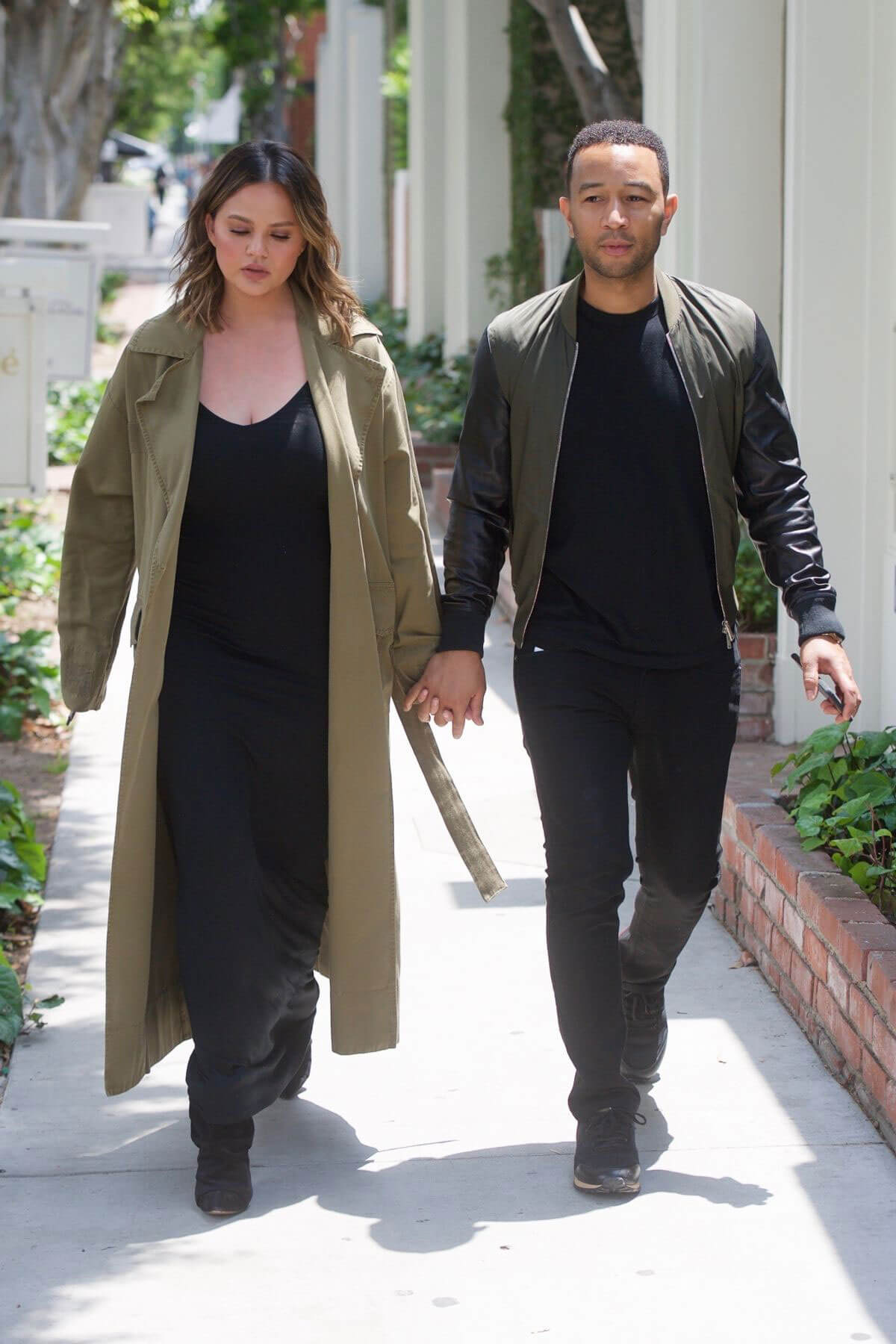 Chrissy Teigen and John Legend Out in Los Angeles 2018/05/31 2