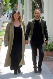 Chrissy Teigen and John Legend Out in Los Angeles 2018/05/31 10