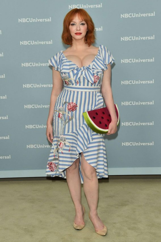 Christina Hendricks at NBCUniversal Upfront Presentation in New York 2018/05/14 1