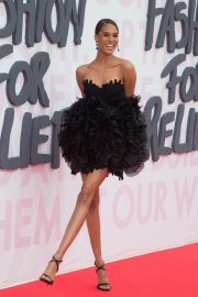 Cindy Bruna at Fashion for Relief at 2018 Cannes Film Festival 2018/05/13 14